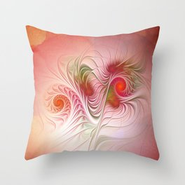 clock face -83- Throw Pillow