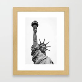 The Statue of Liberty in New York City 3 Framed Art Print