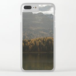 Switzerland Series: Calm Autumn Clear iPhone Case