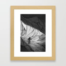 The Cave Framed Art Print