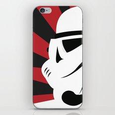 Storm Trooper Portrait iPhone & iPod Skin