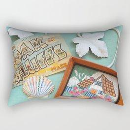 Greetings from Oak Bluffs Rectangular Pillow