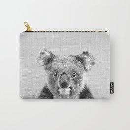 Koala - Black & White Carry-All Pouch