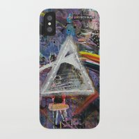 dark side of the moon iPhone & iPod Cases featuring Dark Side of The Moon  by likeitartloveit