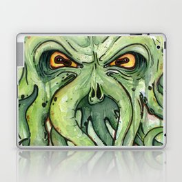 Cthulhu HP Lovecraft Green Monster Tentacles Laptop & iPad Skin