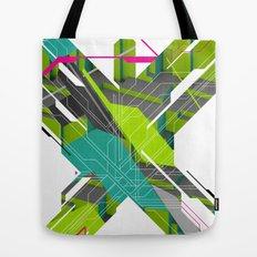 Abstract Green Tote Bag