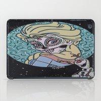 olaf iPad Cases featuring Elsa and Olaf by KittyOG