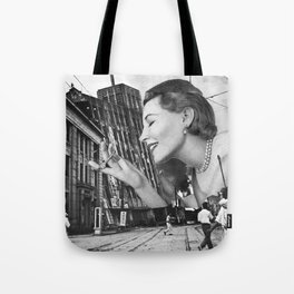 The Feel of Something Real Tote Bag