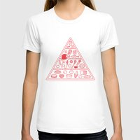 food T-shirts featuring Food Pyramid by Kimiaki Yaegashi