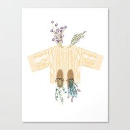 Knit Sweater Canvas Print
