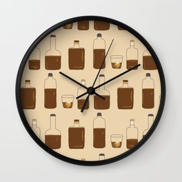 More Bourbon Wall Clock