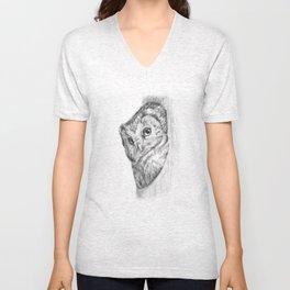 The Boreal Owl Unisex V-Neck