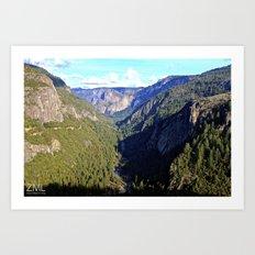 Valley View Art Print