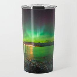 Picnic Rocks Northern Lights Travel Mug