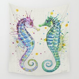 Guardians of the Sea - Natural Wall Tapestry