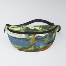 "Paul Gauguin - By the Seashore, Martinique ""Bord de mer I"" (1887) Fanny Pack"