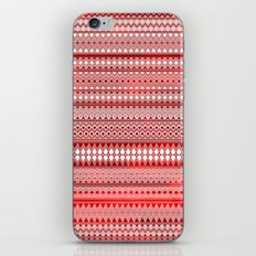 Tribality Red Texture iPhone & iPod Skin