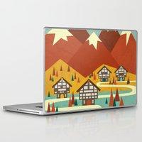 switzerland Laptop & iPad Skins featuring Switzerland by Kakel