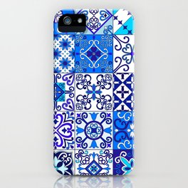 Moroccan Tile islamic pattern iPhone Case