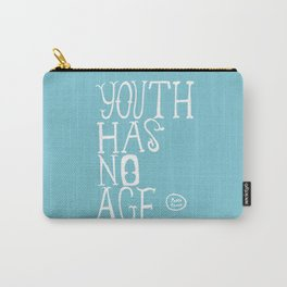 Youth Has No Age (Blue) Carry-All Pouch