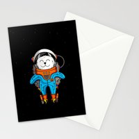 Intercatlactic! to the delicious Milky way!!! Stationery Cards