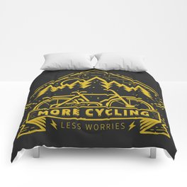 More Cycling Again Comforters