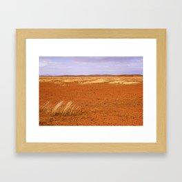 Flinders Ranges Desert Landscape Framed Art Print