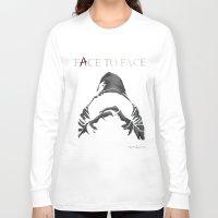 "pretty little liars Long Sleeve T-shirts featuring ""A"" - Pretty Little Liars | FACE TO FACE | Drawing by CorySimpsonArt"