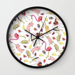 Unicorn Animals Wall Clock