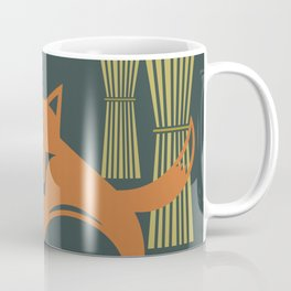 Foxes in the Harvest Coffee Mug