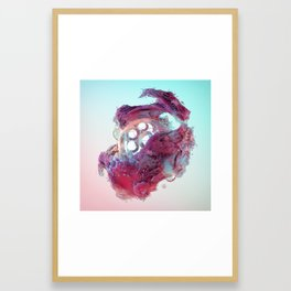 Glower Framed Art Print