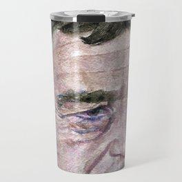 ANDREW WYETH - watercolor portrait Travel Mug
