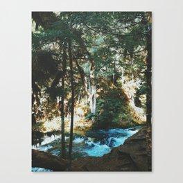 Exploring Sahalie Falls Canvas Print