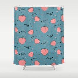 Sweet peach Shower Curtain