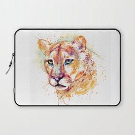 Cougar Head Laptop Sleeve