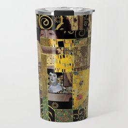 Klimt art Travel Mug