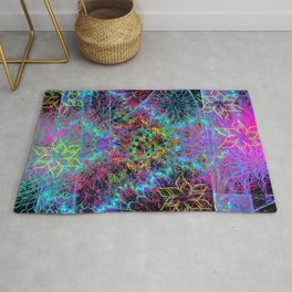 Dearly Departed Wildflowers Rug