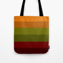 Cool Autumn Leaves - Color Therapy Tote Bag