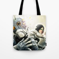 Suit Fight Tote Bag