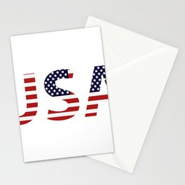 word United States of America Stationery Cards