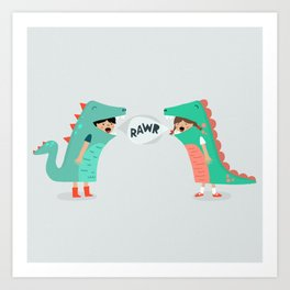 means 'I love you' Art Print