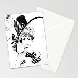 My Fair Lady Fashion Sketch Stationery Cards