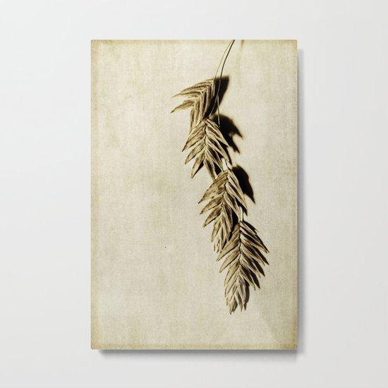 khaki Metal Print