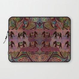 Floral Elephants #2 Laptop Sleeve