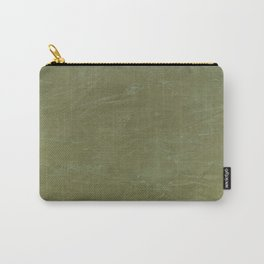 Italian Style Tuscan Olive Green Stucco - Luxury - Neutral Colors - Home Decor - Corbin Henry Carry-All Pouch