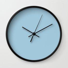 Crystal Blue Wall Clock