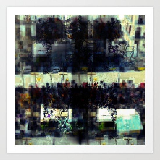 Saturday 23 March 2013: soon again you see Art Print