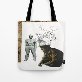 There's love and work, and love as work Tote Bag