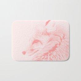 red fox digital acryl painting acrpw Bath Mat