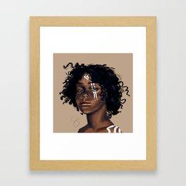 A Warrior Framed Art Print